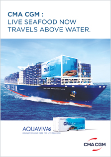 AQUAVIVA: life seafood now travels above water