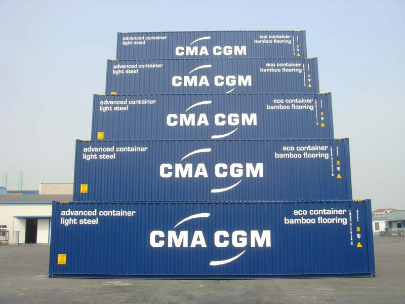 CMA CGM Light steel bamboo floor containers