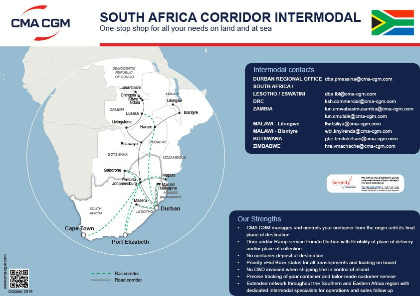 South Africa Corridors