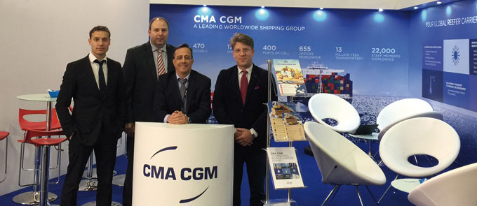 CMA CGM Reefer team