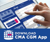 Download the CMA CGM Mobile App