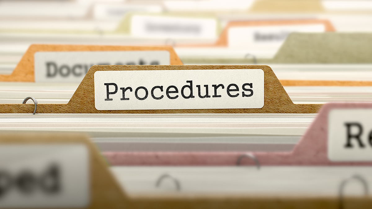 Procedures image