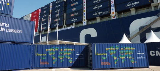 CMA CGM CContainers of Hope