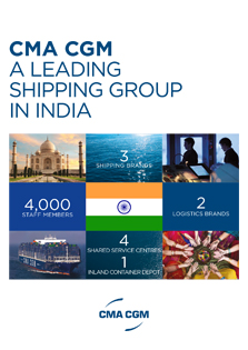 CMA CGM a leading shipping Group in India