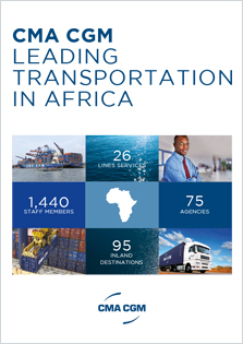 CMA CGM a leading worldwide shipping Group in Africa