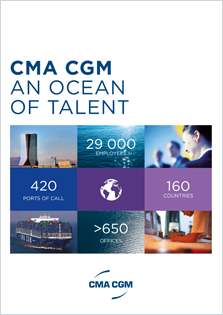CMA CGM's HR brochure : An ocean of talent (Download PDF)