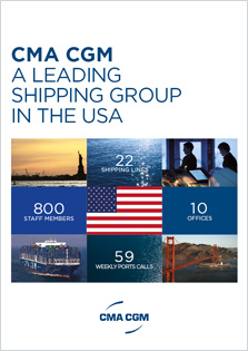 CMA CGM a leading shipping Group in the USA