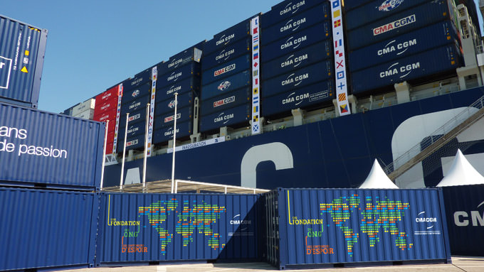 The CMA CGM Corporate Foundation for Children : the Containers of Hope Operation