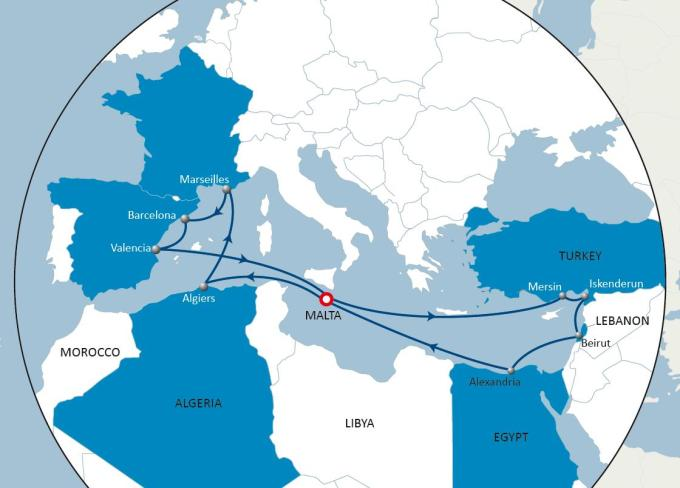 Business Companies In Malta Mail: CMA CGM Launches New WEMED Service Dedicated To Intra