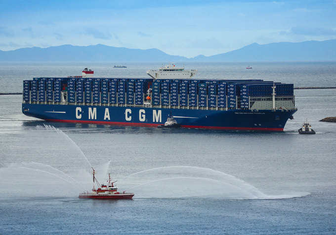 CMA CGM Reshuffles EURAF 4 Service