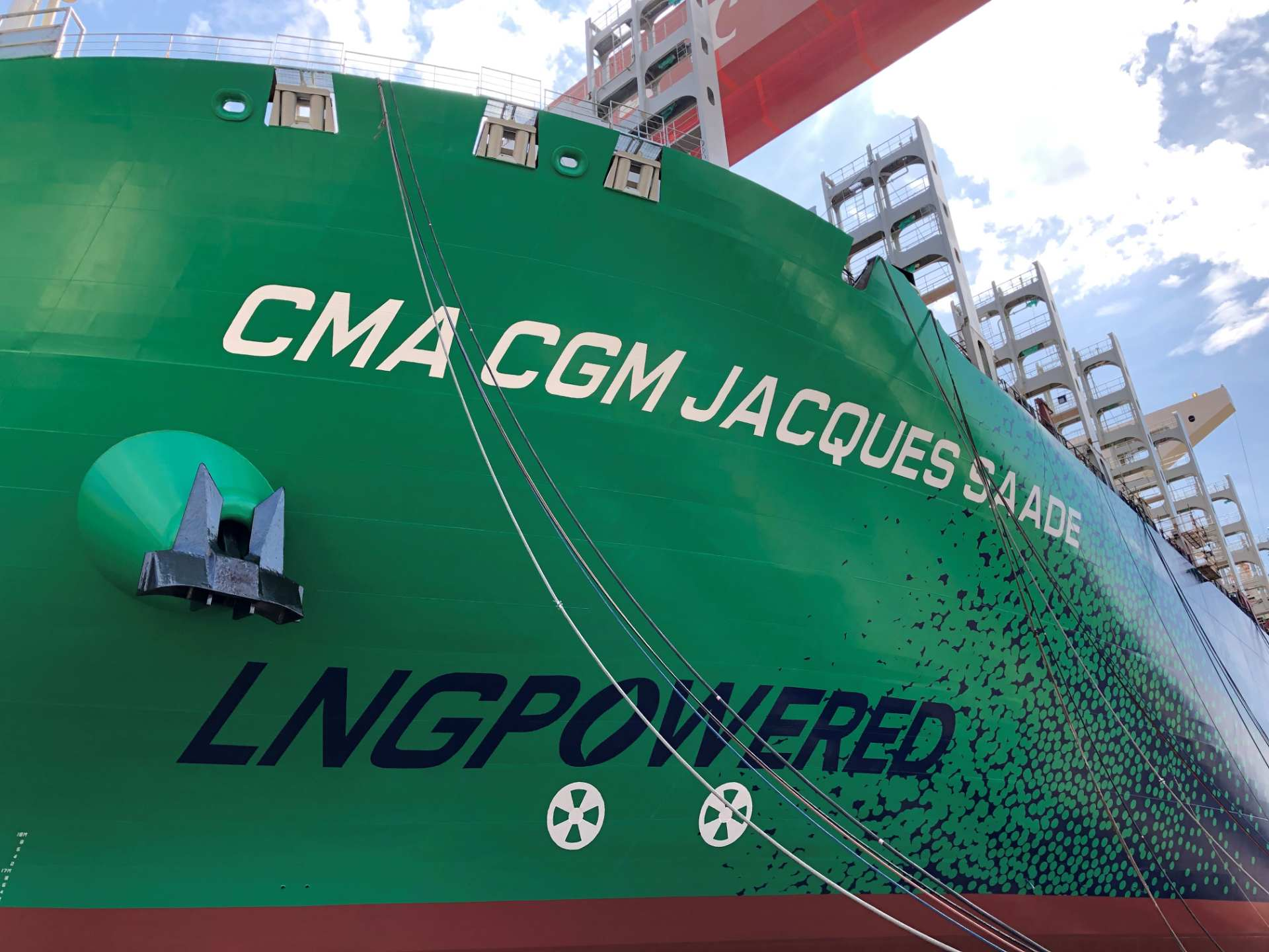 World Premiere: Launching of the World's Largest LNG-Powered Containership and Future CMA CGM Group Flagship