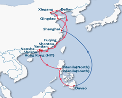 Jt6 Service Direct From Manila To Kaohsiung An Ports Vessel Routing North South Osaka Kobe Tokyo