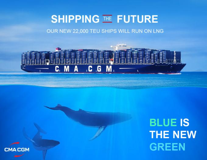 CMA CGM Blue is the New Green