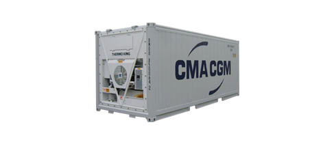 Reefer containers & technologies | CMA CGM